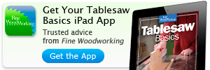 tablesaw ipad app